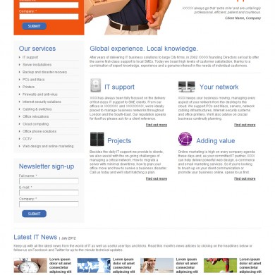 web-design-example-page